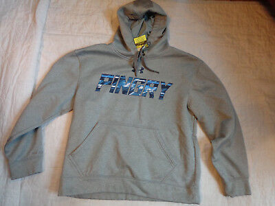 Nwot Under Armour Cold Gear Fleece,pingry School,warm,sm Men Loose,hood Sweater