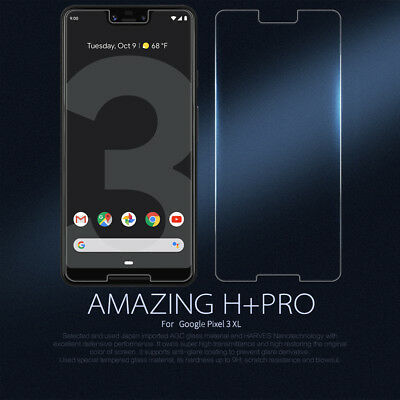 Nillkin 9H+PRO 2.5D Thin Tempered Glass Screen Protectors For Google Pixel 3 XL