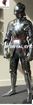 Medieval Epic German Gothic Full Suit Of Armor -15th Century Late Armor Costume