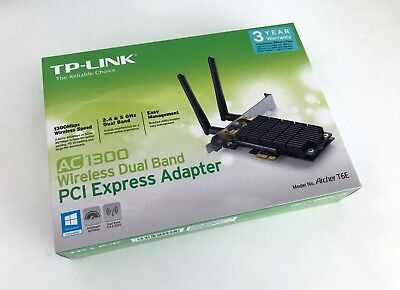 TP-LINK Archer T6E AC1300 Wireless Dual Band Network Adapter Card