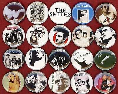 The Smiths NEW 20 pins badges buttons morrissey johnny marr meat is murder MOZ