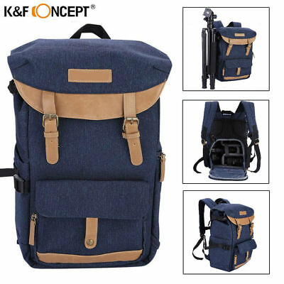 K&F Concept Waterproof Large Backpack Camera Bag Case fr DSLR Canon Nikon Sony B