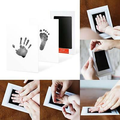 Baby Hand and Foot Print Kit Photo Frame Newborn Unique Keepsake Gifts·New