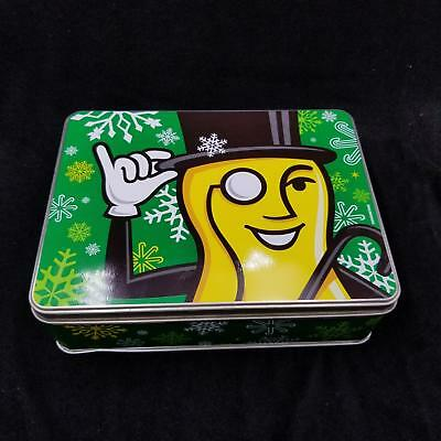 Christmas Planters Peanuts.Planters Peanuts Mr Peanut Holiday Collectors Tin Vintage Christmas