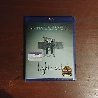Lights Out 2016 (Blu-ray) - Horror/Suspense Movie