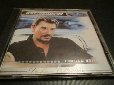 "RARE! CD ""JOHNNY HALLYDAY : DELUXE COLLECTION (DE LUXE)"" import Russe"