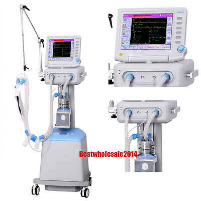 ICU Ventilator ICU treatment ventilator CE  FDA pressure ICU Machine  Emergency