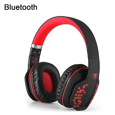 Wireless Gaming Headset Headphones w/Mic Wired for Nintendo Switch PS4 Xbox one