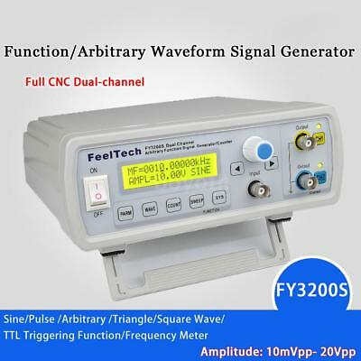 FY3200S 20MHz 2CH Digital DDS Function Signal Generator Frequency Counter R5H8
