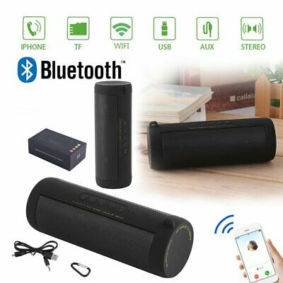 Bluetooth Lautsprecher Wireless Speaker Tragbarer Funk Sound Box Micro TF SD MP3