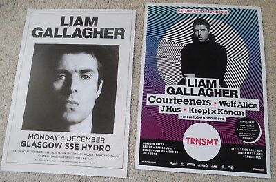 Liam Gallagher Oasis - poster JOB LOT bundle live music concert gig tour posters