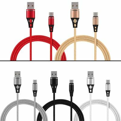 USB 3.1 Type-C Braided Data Cable Charger Fast Charging Cable For Samsung Huawei