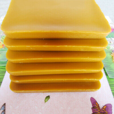 1KG Pure Organic Beeswax Filtered Chemical-free Bees Wax Natural Lipstick Candle