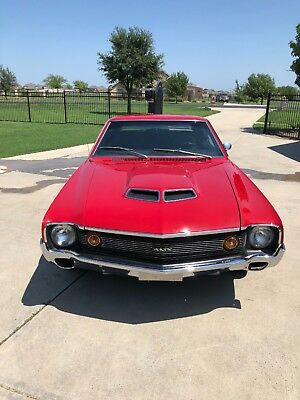 1970 AMC AMX  1970 amx 4 speed go pack