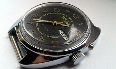 NEW! Men`s Vintage Slava  Mechanical Russian Watch USSR