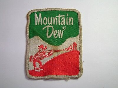 Early Vintage Mountain Dew Willy the Hillbilly Soda Pop Hat Shirt Uniform Patch