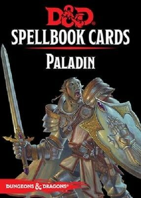 D&D : Spell book Cards : Paladin Deck (69 Cards) - 73919