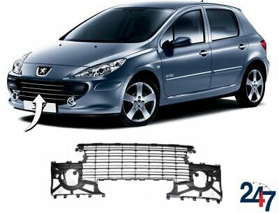 New Peugeot 307 2005 - 2007 Front Bumper Center Main Grille 7414Nw