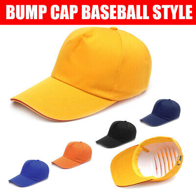Impact Baseball Style Bump Cap Hard Hat Safety Head Protection Work Wear Helmet