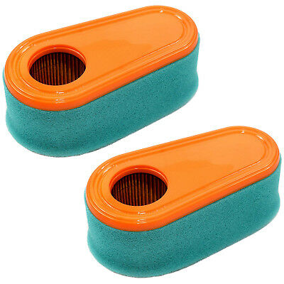 2-Pack Air Filter Cartridge Pre-Cleaner for Briggs & Stratton Model 12 Engines