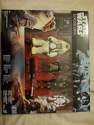 Star Wars Rogue One 4 Pack Action Figure Set With Weapons Brand New & Sealed