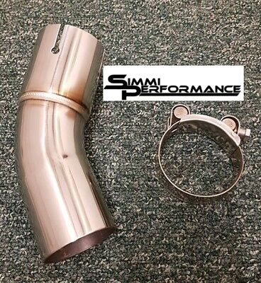 Lextek Stainless Steel Exhaust Link Pipe to fit Kawasaki Z900RS 2018