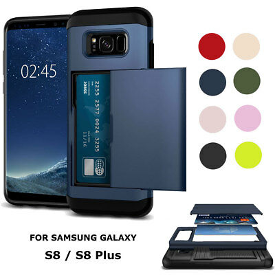 Heavy Duty Shockproof Shell Rubber Phone Case For Samsung Galaxy S8 / S8+ Plus