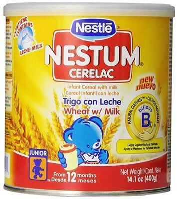 Nestle Cerelac Wheat with Milk Cereal, 14.1 oz