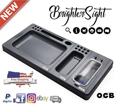 OCB MOBO Modular Package Rolling Tray Smoking Cigarette Box 2018 CHRISTMAS Gift