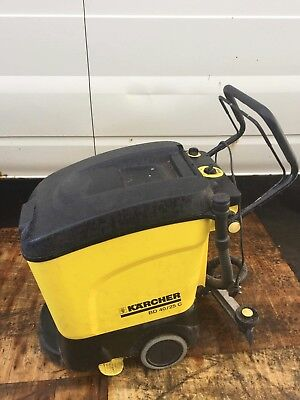 Karcher floor scrubber cleaner dryer model number bd 4025c battery powered
