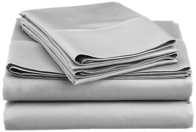 Sheet Set 800TC Hotel Collection Soft Breathable 100/% Egyptian Cotton Satten Wav