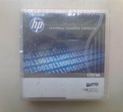NEW HP LTO Ultrium C7978A Universal Cleaning Cartridge