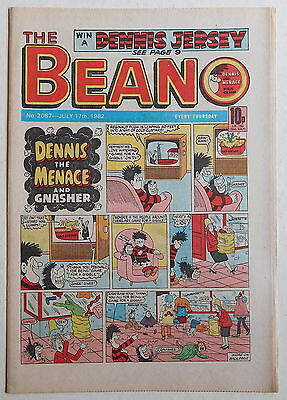 BEANO COMIC #2087 - 17th July 1982