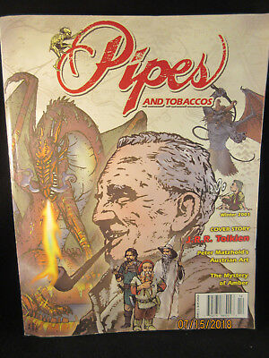 Pipes & Tobaccos Magazine Winter 2001 J. R. R. Tokien Feature RARE FREE SHIPPING