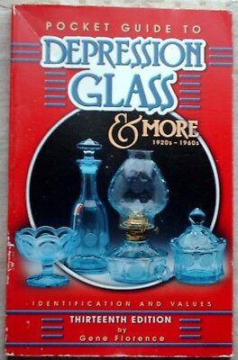 Pbk; Pocket Guide to Depression Glass and More, 1920s-1960s; Gene Florence 2002