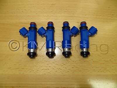 Flow Tested /& Cleaned 4x 950cc Top Feed Fuel Injectors for Subaru
