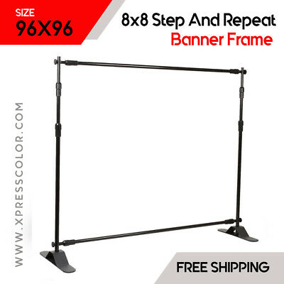 8x8 Step And Repeat Banner Frame for Large Backdrops
