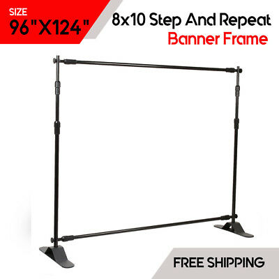 8X10 STEP AND Repeat Backdrop Telescopic Banner Stand Wholesale ...