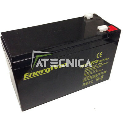 Lead-Acid Rechargeable Battery 12 12V 9 9Ah Batteries for Security Automation