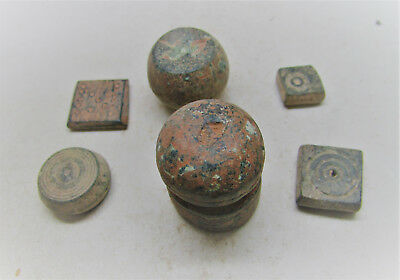 Collection Of Ancient Byzantine Weights. Some Unusual Examples