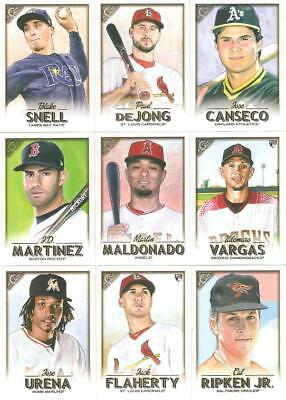 2018 Topps Gallery Singles W/rc's ***you Pick*** #'s 76 - 150