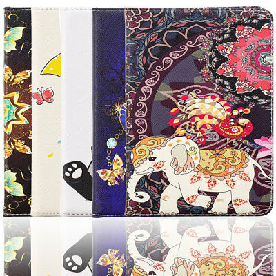 For Amazon Kindle Paperwhite 10th Gen 2018 Painted Leather Stand Smart Auto Case