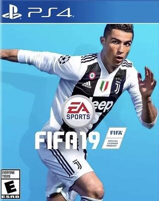 FIFA19 Soccer Playstation 4 PS4 Brand New Factory Sealed