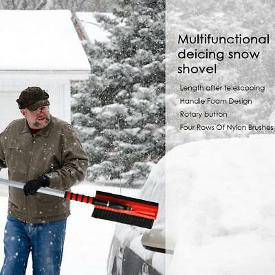 Large Car Vehicle Winter Snow Ice Scraper Snow Brush Shovel Removal Brush