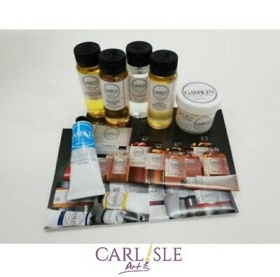 Gamblin Artists Colors - Oil Painting Mediums Set