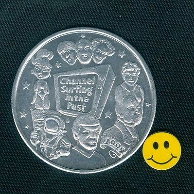 I Dream of Jeannie - Mr. Spock - Three Stooges - Hitchcock - Doubloon Token 1999