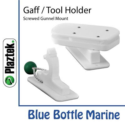 Plaztek 3 Inch Gaff Fishing Tool Holder Gunnel Mount screwed