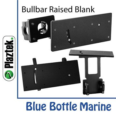 NEW Plaztek Bull Bar Rod Holder Raised Blank from Blue Bottle Marine
