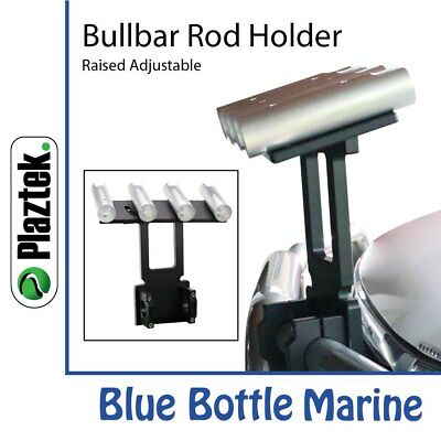 Plaztek Bull Bar Rod Holder Raised with Adjustable Angle