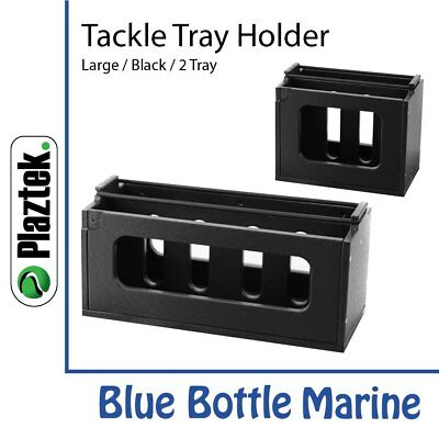 NEW Plaztek Tackle Tray Holder Large Hori 3 Tray from Blue Bottle Marine